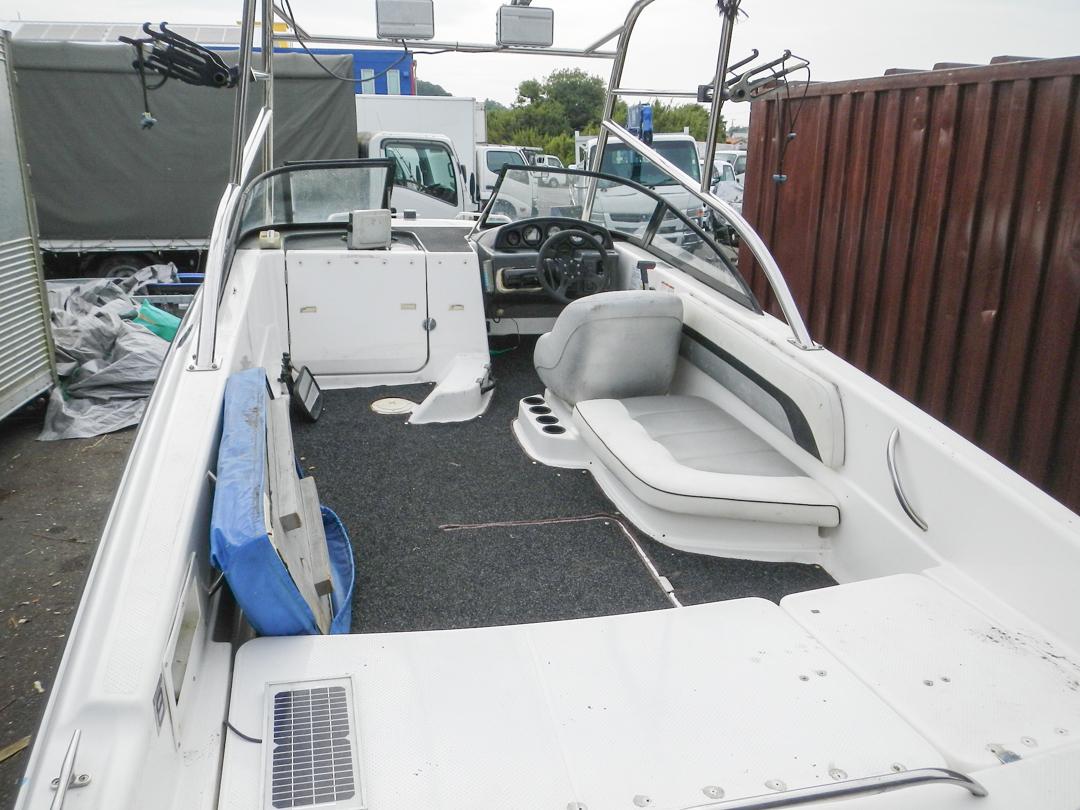 ヤマハ エアロギア AG-21BR EX F150 (E0J) エンジン快調 ウェイクボード艇 新品シートも付いてます トレーラー付き_画像8