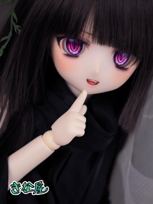【きな屋】DDH-01 カスタムヘッド (セミホワイト肌)+アイ_画像3
