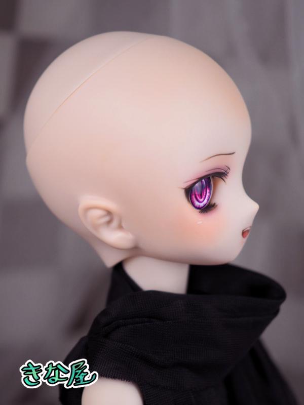 【きな屋】DDH-01 カスタムヘッド (セミホワイト肌)+アイ_画像7