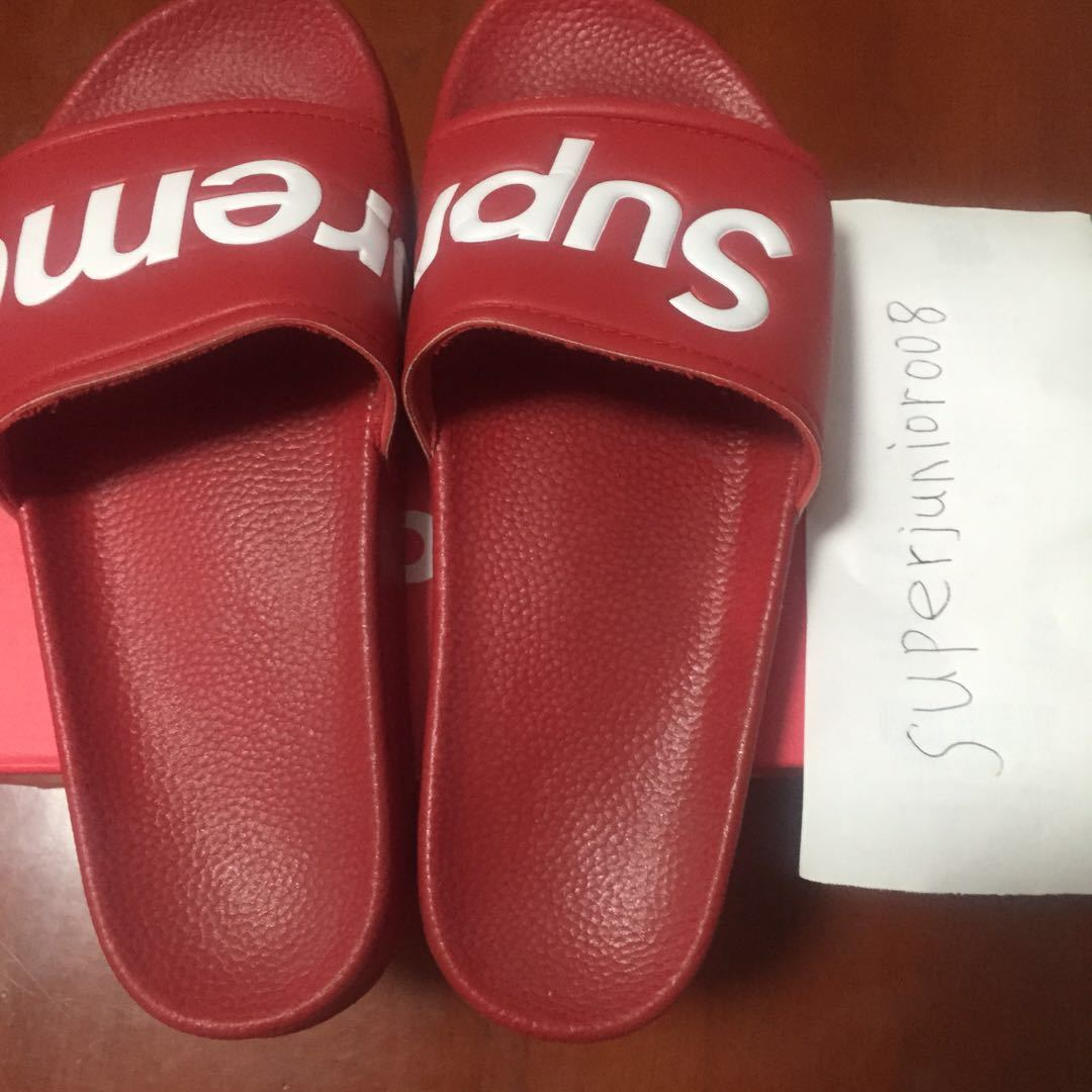 Used Supreme Sandals 26cm: Real Yahoo Auction Salling