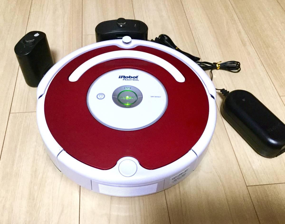 極美品! ルンバ ロボット掃除機 iRobot Roomba 538バッテリー新品! エッジブラシ新品! フィルター新品!_画像7