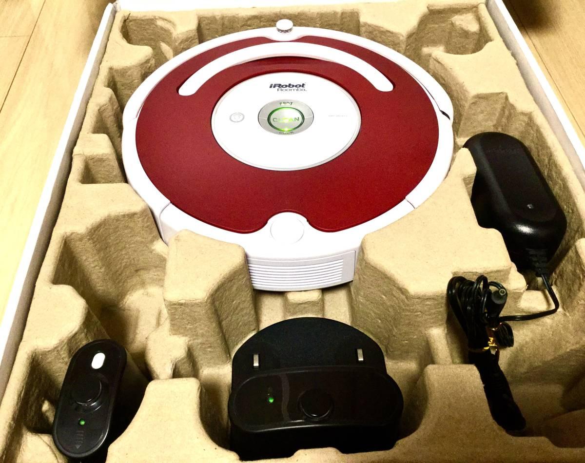 極美品! ルンバ ロボット掃除機 iRobot Roomba 538バッテリー新品! エッジブラシ新品! フィルター新品!