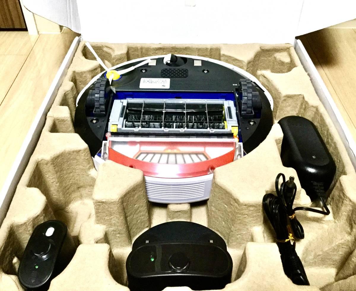 極美品! ルンバ ロボット掃除機 iRobot Roomba 538バッテリー新品! エッジブラシ新品! フィルター新品!_画像2