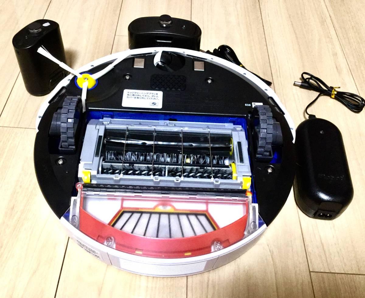 極美品! ルンバ ロボット掃除機 iRobot Roomba 538バッテリー新品! エッジブラシ新品! フィルター新品!_画像8