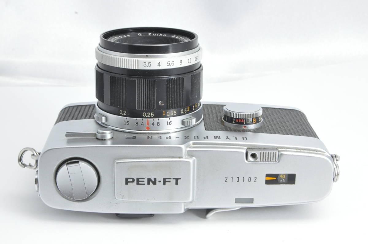 #2222 OLYMPUS-PEN F G.ZUIKO Auto-W 20mm F3.5 オリンパス ペン 広角レンズ付き_画像2