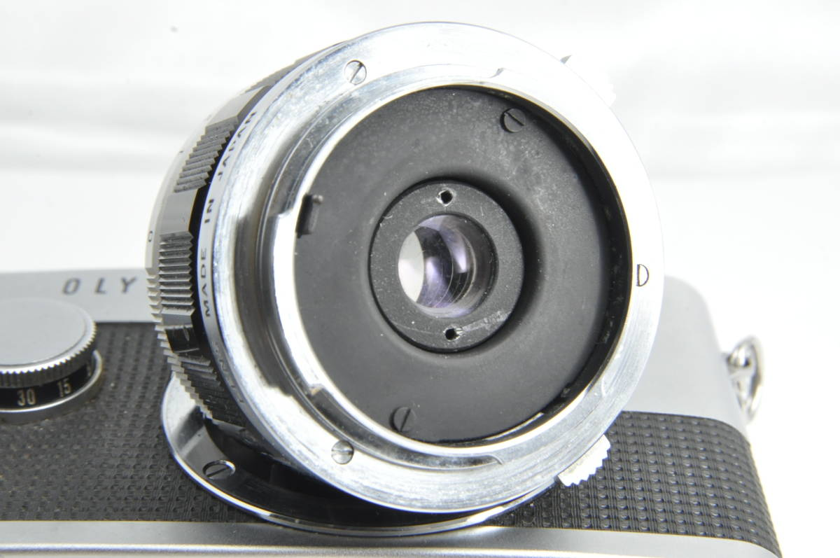 #2222 OLYMPUS-PEN F G.ZUIKO Auto-W 20mm F3.5 オリンパス ペン 広角レンズ付き_画像8