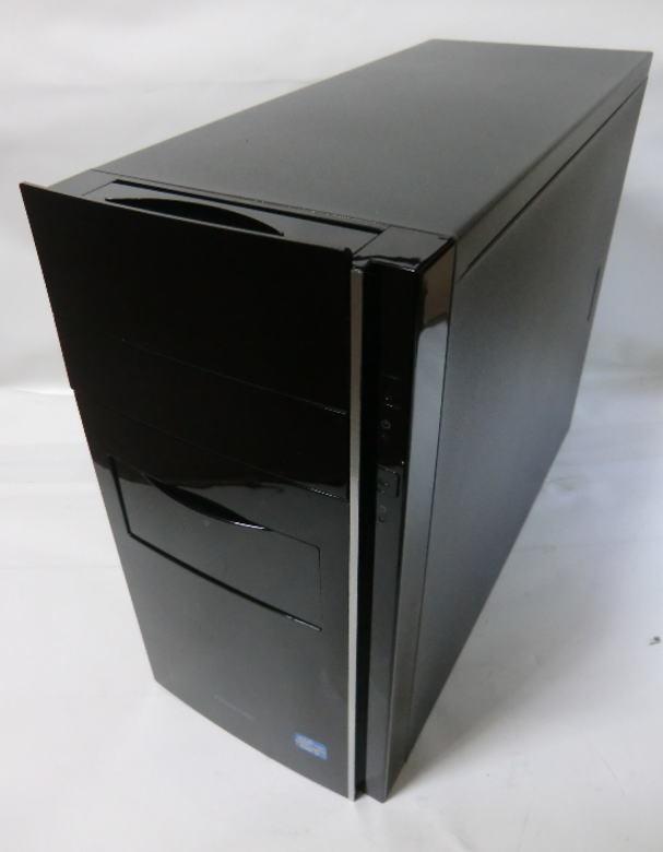 ★FRONTIER FRMX616/Ds★ ECS H61H2-M2/intel Core i7 3770/8GB/500GB/460W/Win7 64bit インストール済/自作PC系