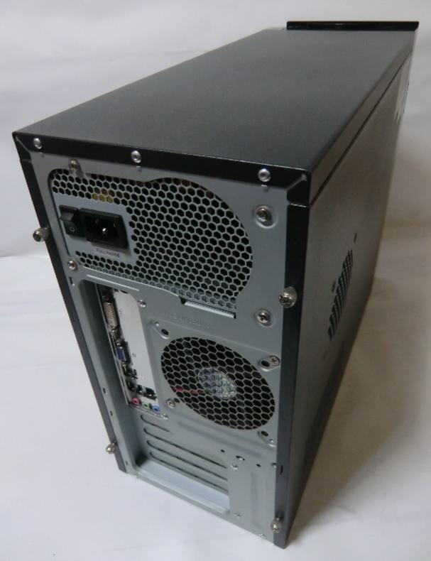 ★FRONTIER FRMX616/Ds★ ECS H61H2-M2/intel Core i7 3770/8GB/500GB/460W/Win7 64bit インストール済/自作PC系_画像2