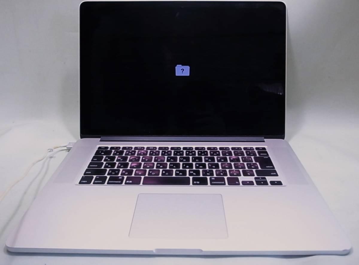 MacBookPro Mid 2012 MC976J/A Corei7 Quad-Core 2.6GHz 15インチ Retinaディスプレイモデル 部品取り ジャンク