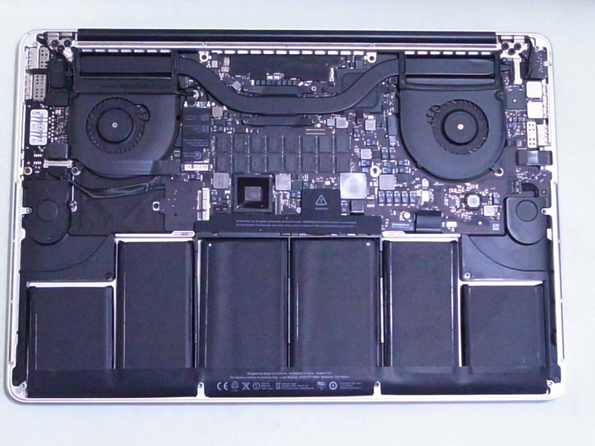 MacBookPro Mid 2012 MC976J/A Corei7 Quad-Core 2.6GHz 15インチ Retinaディスプレイモデル 部品取り ジャンク_画像5
