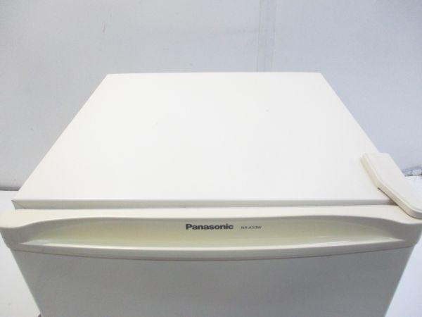 6585★Panasonic パナソニック 1ドア ノンフロン冷蔵庫 NR-A50W-W 2013年製★_画像2