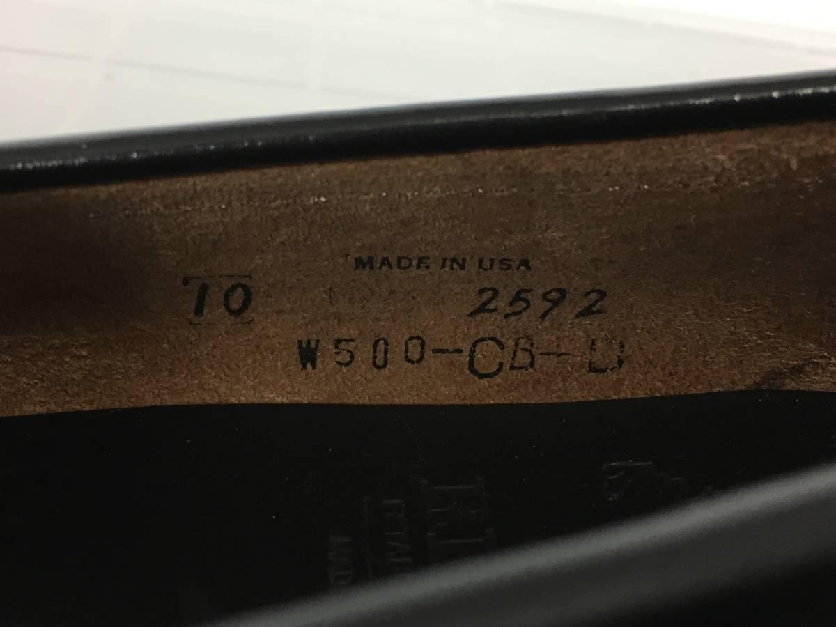未使用品 REGAL Imperial grade リーガル インペリアルグレード 2592 レザー ローファー モカシン サイズ10 USA製 廃番 最高級ライン_画像7