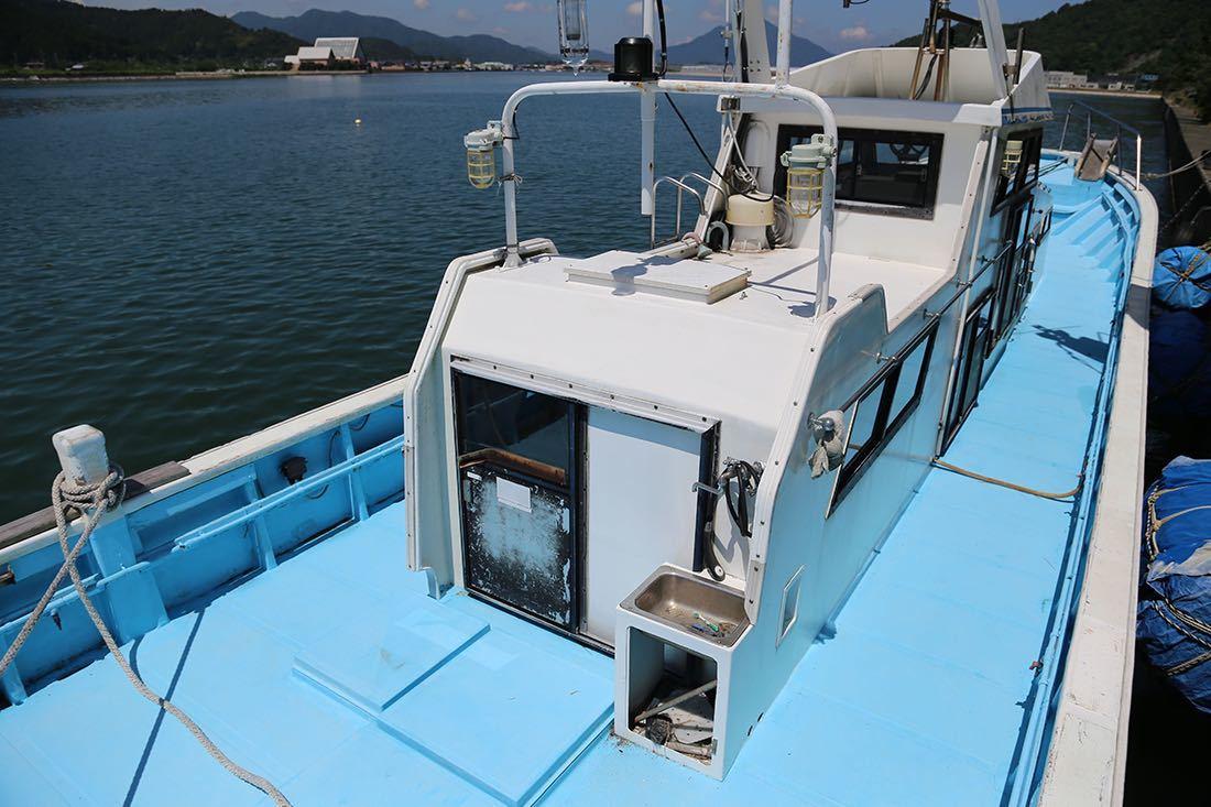 【boatflow.jp】塩野造船興業 50ft 漁船_画像4