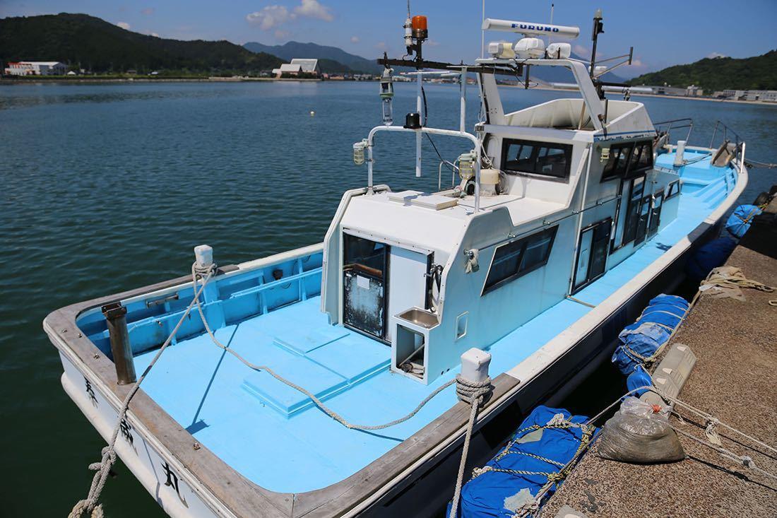 【boatflow.jp】塩野造船興業 50ft 漁船