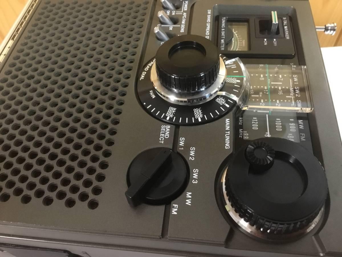 『後期型』スカイセンサー ICF-5900 【即決特典で急速充電器 ・単三充電池 ・単一変換スペーサーを付属(全て新品) 】_画像4