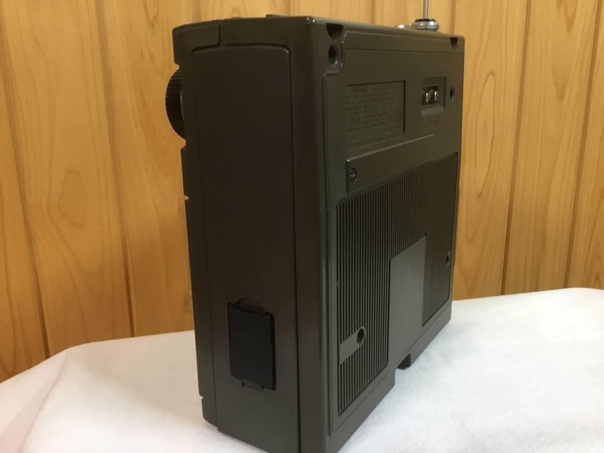 『後期型』スカイセンサー ICF-5900 【即決特典で急速充電器 ・単三充電池 ・単一変換スペーサーを付属(全て新品) 】_画像9