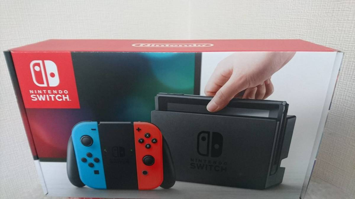 【新品未使用】 任天堂 Nintendo Switch本体 ネオンカラー