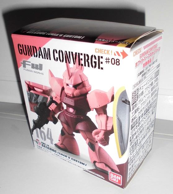 GUNDAM CONVERGE FW ガンダム コンバージ 第#08弾 164 ゲルググ シャア専用機_画像1