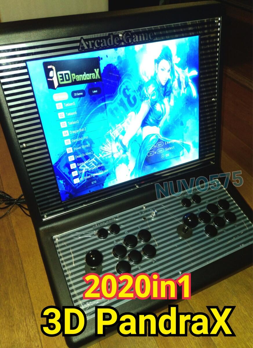 特別限定販売 2020in1 19インチ液晶 アーケード筐体 3dパンドラx搭載