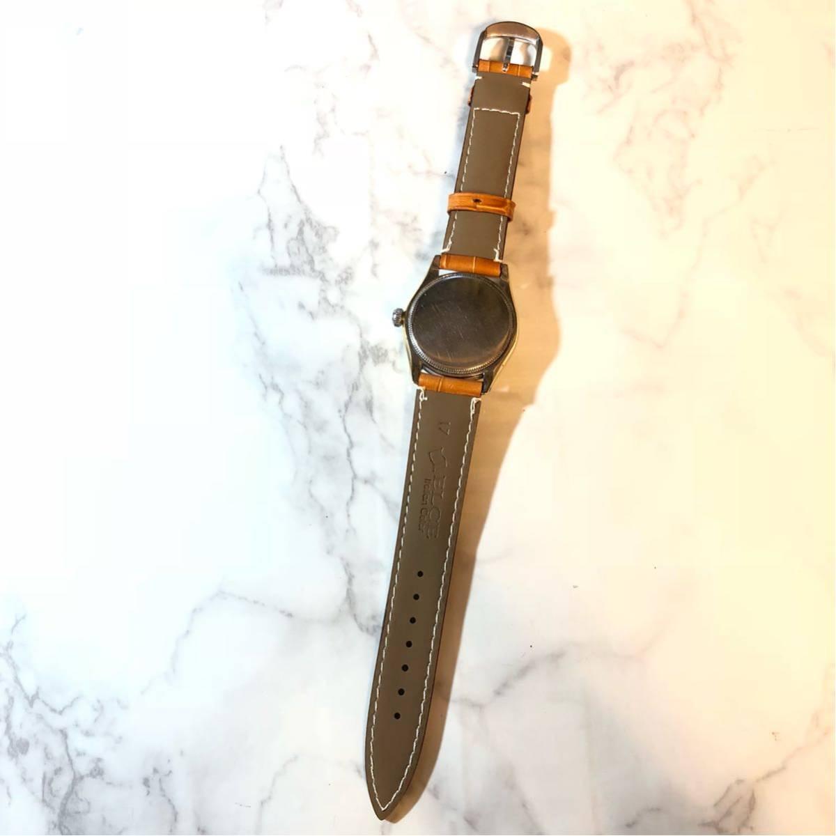 1円スタート☆【ROLEX】Ref-6244 OYSTER ROYAL 手巻き腕時計 WH-1125_画像5