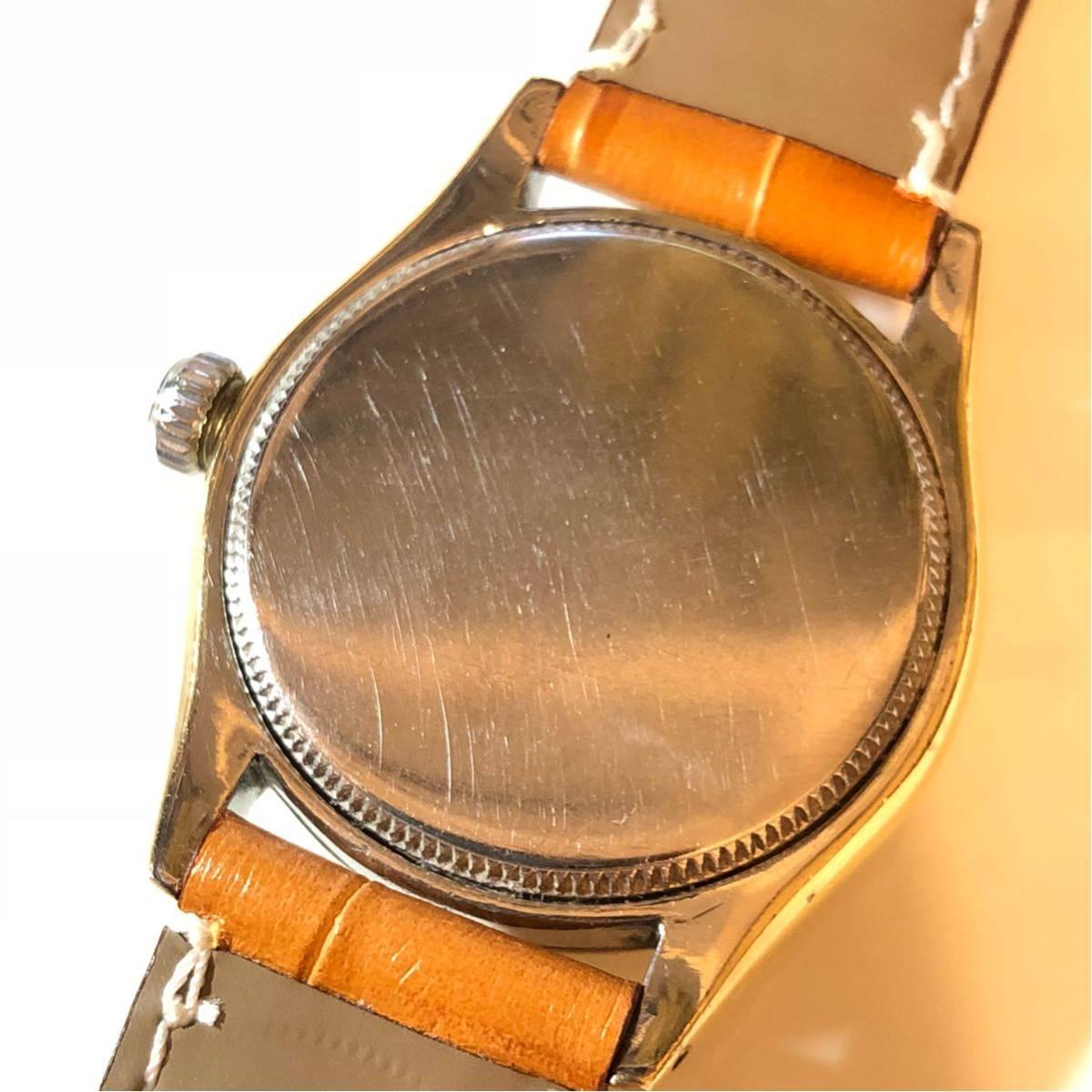 1円スタート☆【ROLEX】Ref-6244 OYSTER ROYAL 手巻き腕時計 WH-1125_画像3