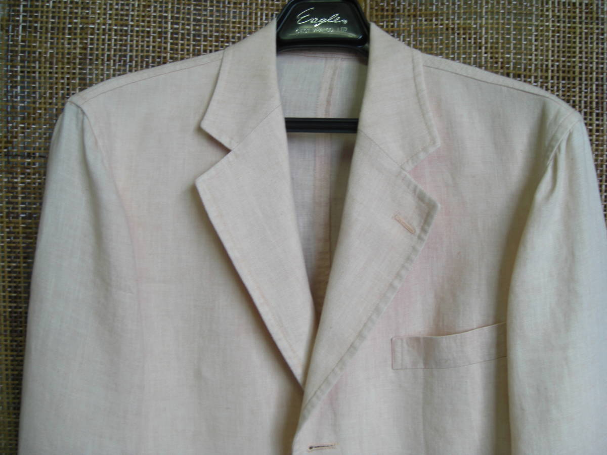 barasi mirano サイズ46  麻100% 薄いピンク色 夏用_画像5