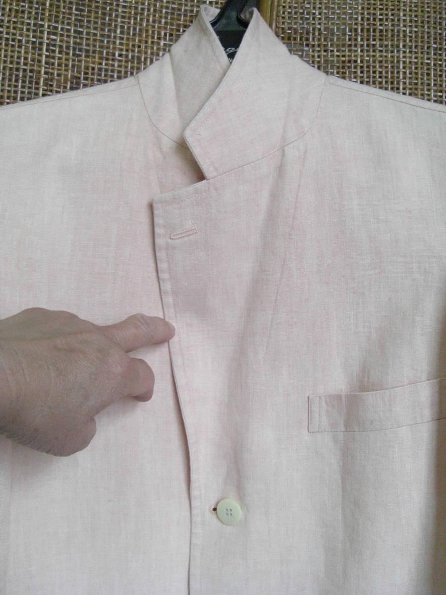 barasi mirano サイズ46  麻100% 薄いピンク色 夏用_画像2