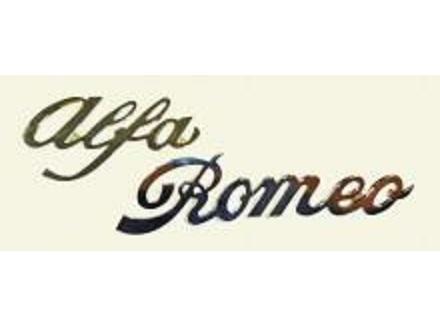 アルファロメオ Alfa Romeo エンブレム ジュリア・スーパー 他 梱包サイズ60_Alfa≒8cm Romeo≒12cm