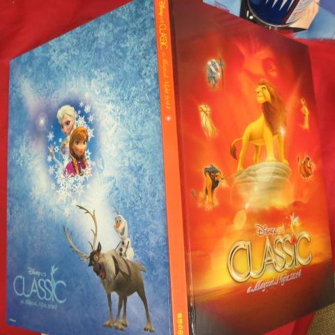 mz ディズニー・オン・クラシック 2014 魔法の夜の音楽会プログラム●ライオンキング/アナと雪の女王_画像3