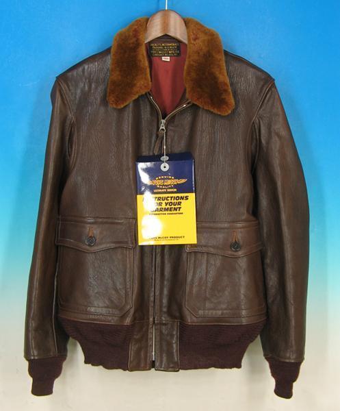 MAWKH11215 トイズマッコイ M-422A フライトジャケット 38 美品_他の画像は商品説明(PC)に掲載しています