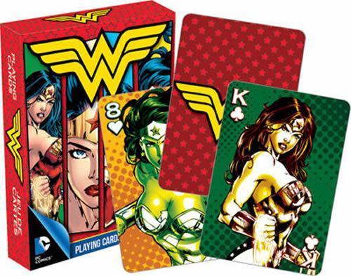 DCコミック ワンダーウーマン Wonder woman トランプカードゲーム_画像1