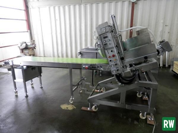高速スライサー ミートロボ なんつね/南常 NS-300 三相200V/エア 試運転動画あり 瞬間スライサー 食肉スライサー [6-132072]_画像1
