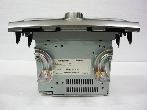 トヨタ 純正 QNC系 bB CDプレーヤー MP3/WMA対応 DEH-M3057ZY_画像3
