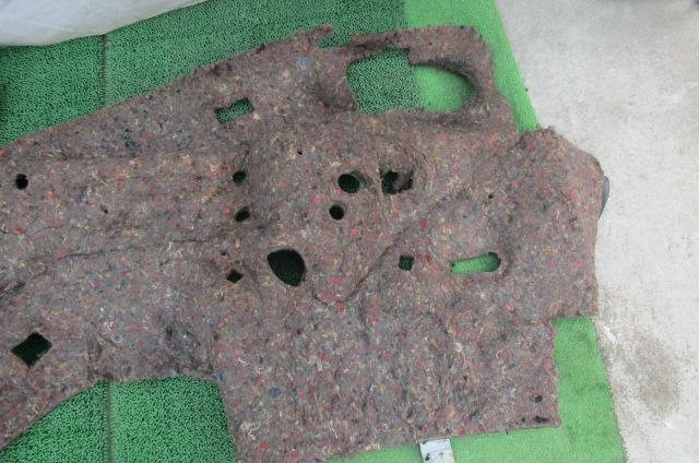 S14 シルビア 後期 純正 ダッシュボード内 マット 内装 内張 防音 バルクヘッド カバー 前期_画像10
