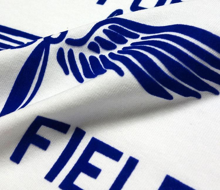 極厚 Tシャツ S スーパーヘビーウェイト フロッキー LOWRY FIELD ARMYエアフォース米陸軍航空隊 / 白 ホワイト_画像3