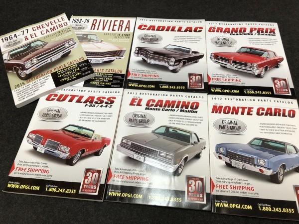 Original Parts Group parts catalog 7 pcs  set GM Chevrolet she bell