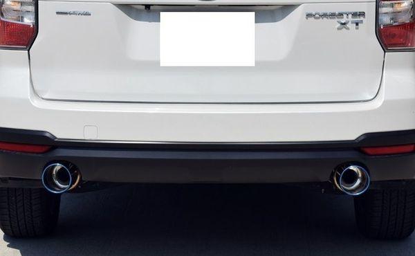 ※湾岸 SJG フォレスター ターボ 4WD用 スポーツマフラー Ti-C Bello 左右出し チタンテール JQR認定 車検対応 オンライン限定モデル!!_画像8