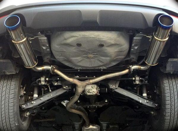 ※湾岸 SJG フォレスター ターボ 4WD用 スポーツマフラー Ti-C Bello 左右出し チタンテール JQR認定 車検対応 オンライン限定モデル!!_画像9