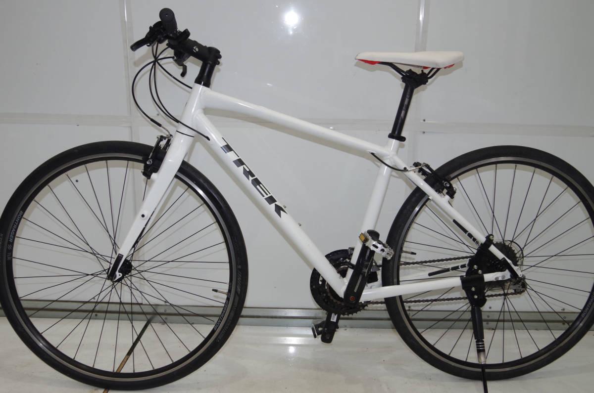 ★TREK★FX3★アルミフレームクロスバイク★27速★C-T:450mm ★700C