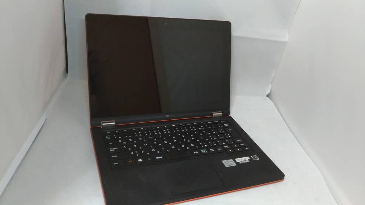 【1円~売り切り!】Lenovo IdeaPad Yoga 11S / オレンジ / Core i7シール【★ジャンク】_画像2