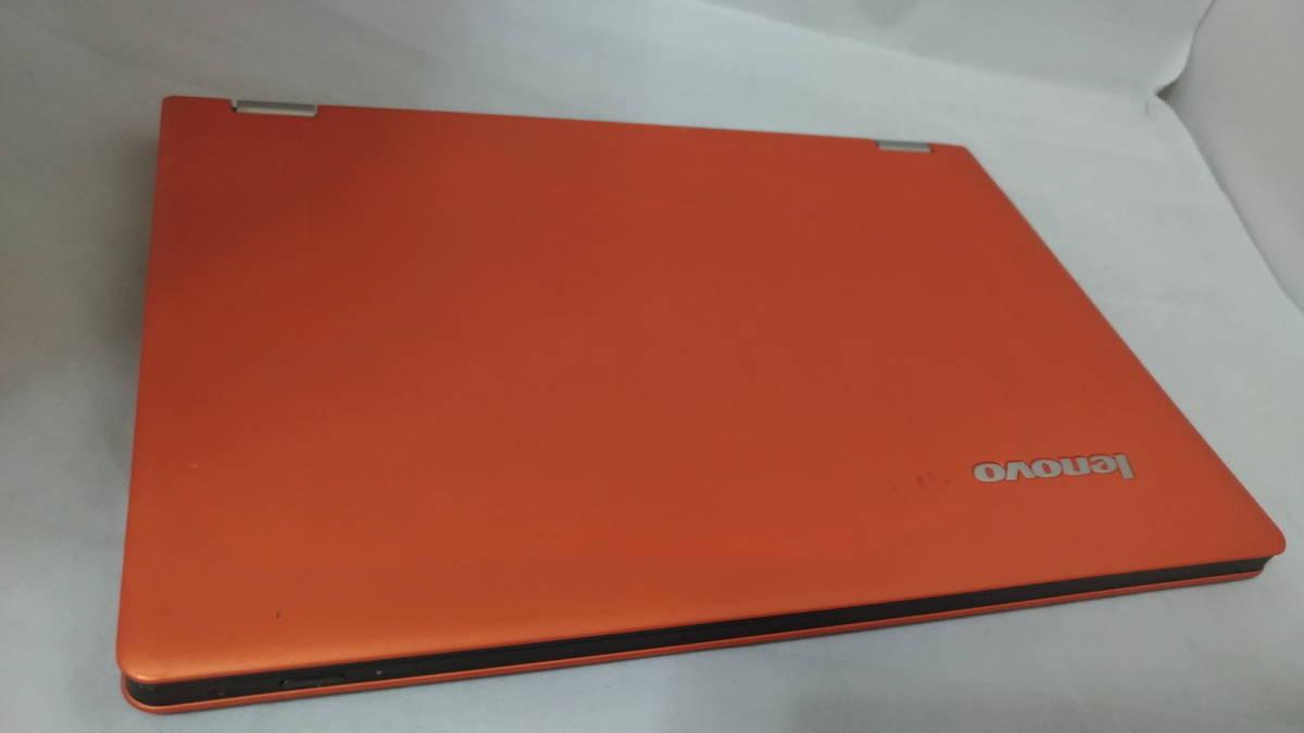 【1円~売り切り!】Lenovo IdeaPad Yoga 11S / オレンジ / Core i7シール【★ジャンク】