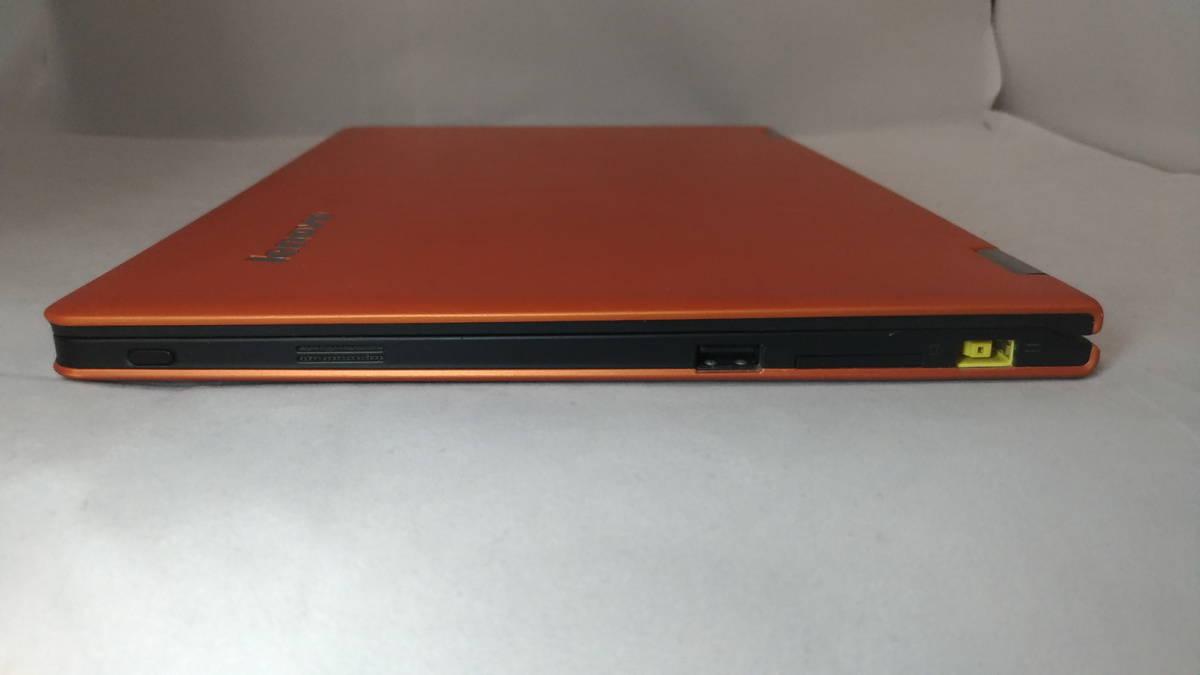 【1円~売り切り!】Lenovo IdeaPad Yoga 11S / オレンジ / Core i7シール【★ジャンク】_画像6