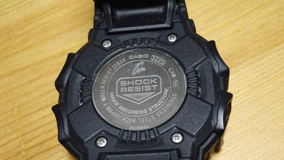 beb9fb8e68 【新品】 G-SHOCK 樹脂バンド ソーラー電波時計/20気圧防水 防塵・防泥構造 GXシリーズ GXW-56-1BJF カシオ
