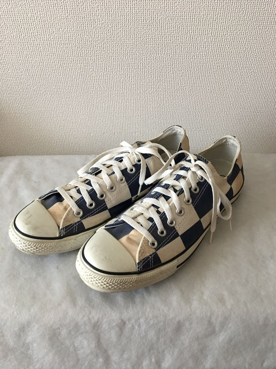 newest collection b2420 c52fb shoes   28.0   Vintage COMME des GARCONS Comme des Garcons Junya Watanabe  sneakers CONVERSE Converse special order city pine pattern 1 jpy start