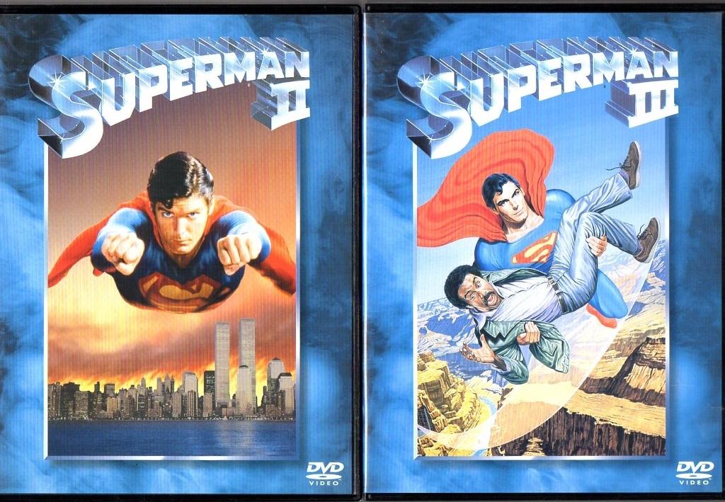 スーパーマン・Ⅱ冒険編・Ⅲ電子の要塞・Ⅳ最強の敵・リターンズ 5巻セット / クリストファー・リーブ ジーン・ハックマン_画像2