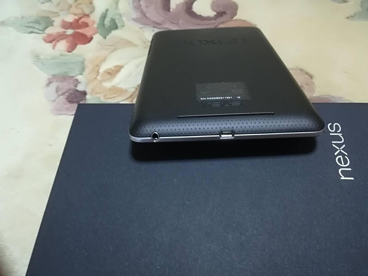 Nexus7 Wi-Fiモデル ★ 保護フィルム付  ★充電スタンド付_画像4