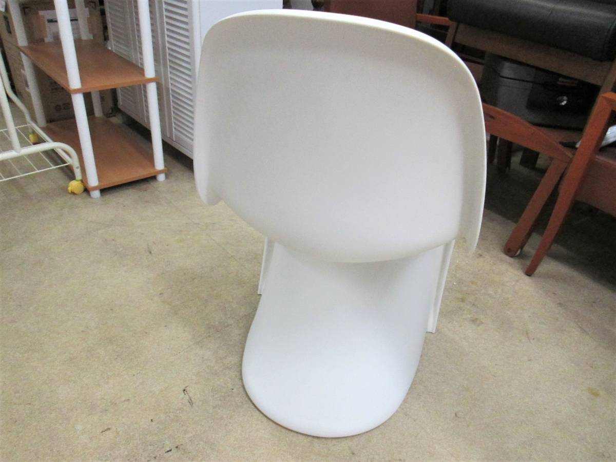 【vitra】 パントンチェア / Panton Chair Verner Panton 刻印_画像3