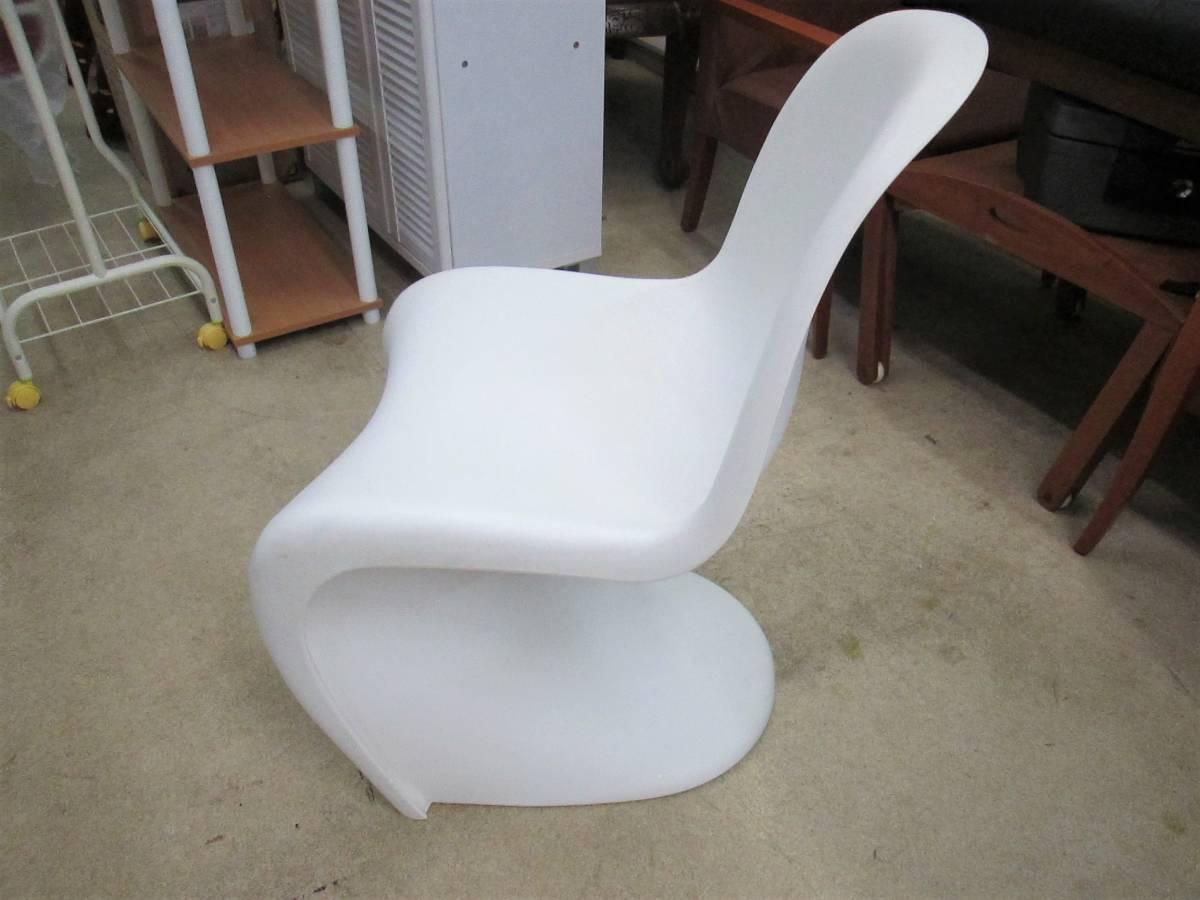 【vitra】 パントンチェア / Panton Chair Verner Panton 刻印_画像7