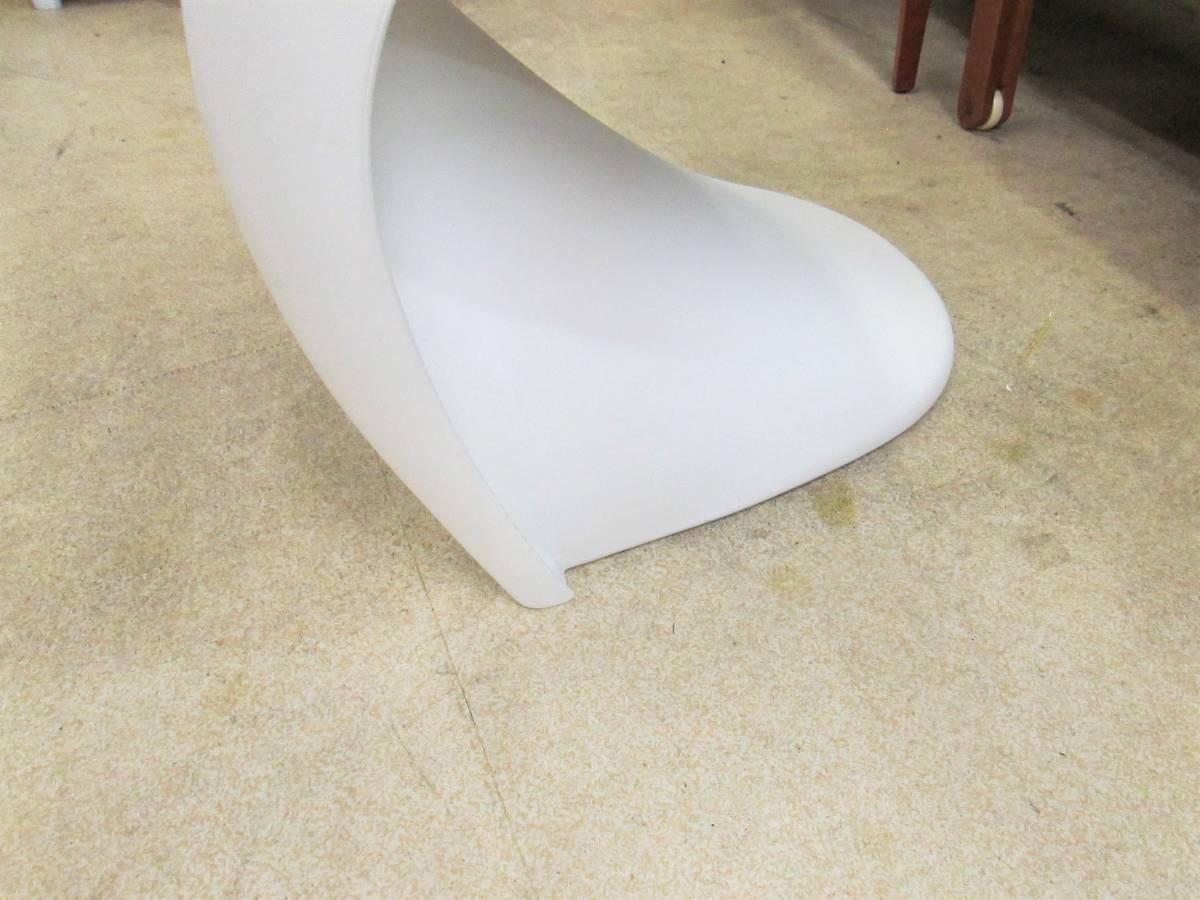【vitra】 パントンチェア / Panton Chair Verner Panton 刻印_画像8