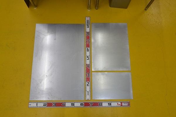 鉄亜鉛メッキ鉄平板(3.2~9.0mm厚)の(914x600~450x300mm)定寸・枚数販売F11_画像1